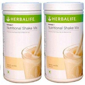 Buy Herbalife Formula 1 Nutritional Shake French Vanilla - Pack of 2 - Nykaa