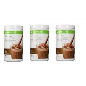 Buy Herbalife Meal Replacement Shake - Dutch Chocolate 500 g each - Set of 3 - Nykaa