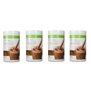 Buy Herbalife Meal Replacement Shake - Dutch Chocolate 500 g each - Set of 4 - Nykaa