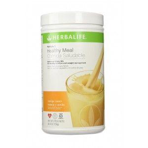 Buy Herbalife Meal Replacement Shake - Orange Cream 500 g - Nykaa