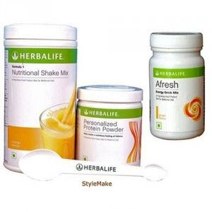 Buy Herbalife Weight Loss Combo - Mango Protein Powder & Afresh Elaichi - Nykaa