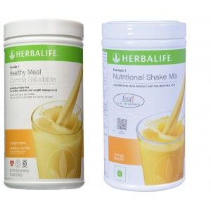 Buy Herbalife Formula 1 Nutritional Shake Mix  Orange Cream & Mango - Pack of 2 - Nykaa
