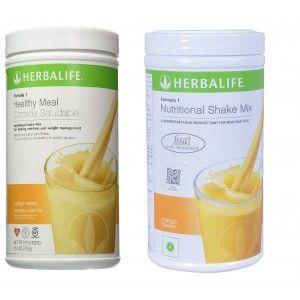Buy Herbalife Formula 1 Nutritional Shake Mix  Orange Cream & Mango - Pack of 2 - Nykaa