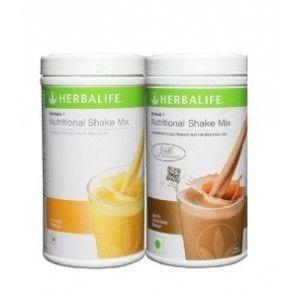 Buy Herbalife Formula 1 Nutritional Shake Mix Mango & Dutch Chocolate - Pack of 2 - Nykaa