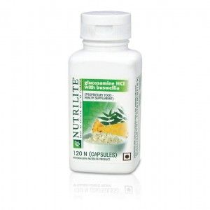 Buy Amway Nutrilite Glucosamine HCL with Boswellia - 120 Capsules - Nykaa