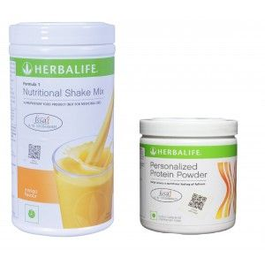 Buy Herbalife Weight Loss Combo - Mango & Protein Powder - Nykaa