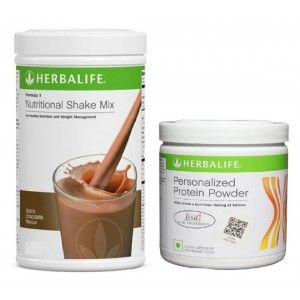 Buy Herbalife Weight Loss Combo - Dutch Chocolate & Protein Powder - Nykaa