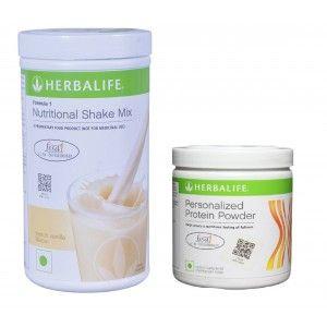 Buy Herbalife Weight Loss Combo - French Vanilla & Protein Powder - Nykaa