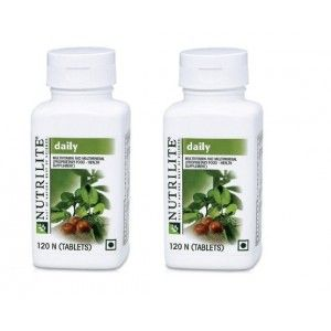 Buy Amway Nutrilite Daily 120 Tablets - Pack of 2 - Nykaa