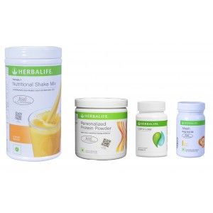 Buy Herbalife Weight Loss Pack - Mango, Cell-U-Loss, Protein Powder & Lemon  - Nykaa