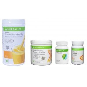 Buy Herbalife Weight Loss Pack - Mango, Cell-U-Loss, Protein Powder & Peach  - Nykaa
