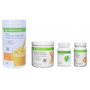 Buy Herbalife Weight Loss Pack - Mango, Cell-U-Loss, Protein Powder & Peach  - Nykaa