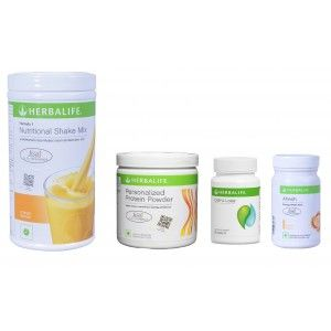 Buy Herbalife Weight Loss Pack - Mango, Cell-U-Loss, Protein Powder & Ginger - Nykaa