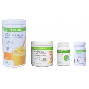 Buy Herbalife Weight Loss Pack - Mango, Cell-U-Loss, Protein Powder & Elaichi - Nykaa