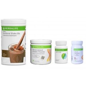 Buy Herbalife Weight Loss Pack- Dutch Chocolate, Cell-U-Loss, Protein Powder & Elaichi - Nykaa