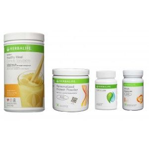 Buy Herbalife Weight Loss Pack- Orange Cream, Cell-U-Loss, Protein Powder & Peach  - Nykaa