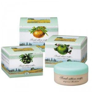 Buy Bottega Di Lungavita Active Body Scrub Green Apple Fragrance - Nykaa