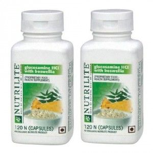 Buy Amway Nutrilite Glucosamine HCL With Boswellia (Pack Of 2) - Nykaa