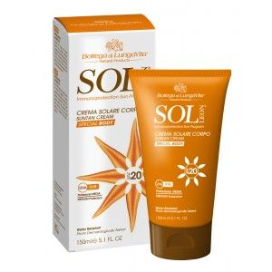 Buy Bottega Di Lungavita Sol Leon Suntan Cream Body Spf 20 - Nykaa
