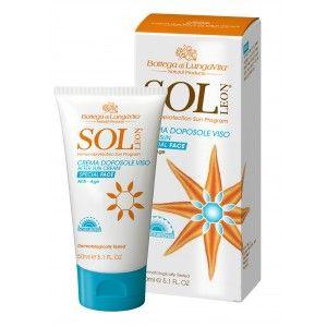 Buy Bottega Di Lungavita Sol Leon After Sun Cream Face - Nykaa