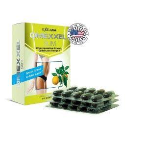 Buy ExxelUSA Omexxel Slim ( Citrus Aurantium, Green Tea Extract, Cla Plus Omega 3) - Nykaa