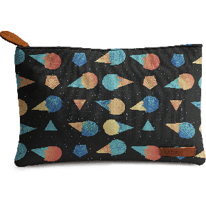 Buy DailyObjects Space Creeaam Carry-All Pouch Medium - Nykaa