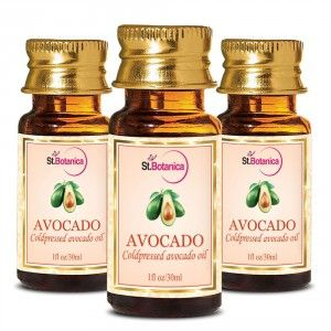 Buy St.Botanica Avocado Pure Coldpressed Carrier Oil - 30ml x 3 - Nykaa