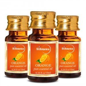 Buy St.Botanica Orange Pure Aroma Essential Oil -10ml x 3 - Nykaa