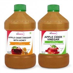 Buy St.Botanica Apple Cider Vinegar With Honey + Apple Cider Vinegar - Nykaa