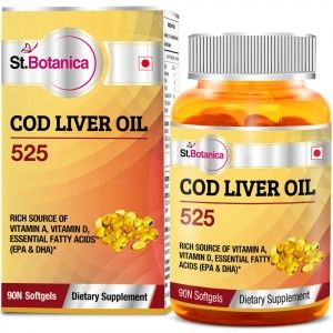 Buy St.Botanica Cod Liver Oil 525 - Nykaa