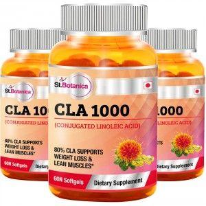 Buy St.Botanica CLA 1000 - Conjugated Linoleic Acid - 3 Bottles - Nykaa