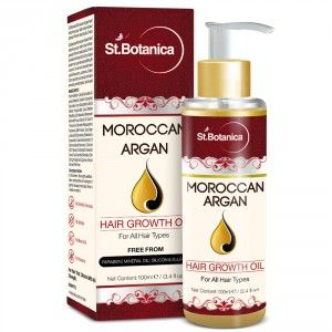Buy St.Botanica Moroccan Argan Hair Growth Oil - Nykaa