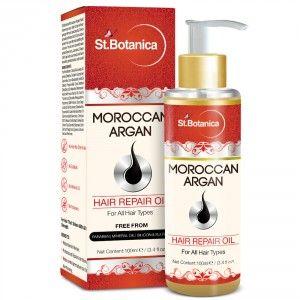 Buy St.Botanica Moroccan Argan Hair Repair Oil - Nykaa