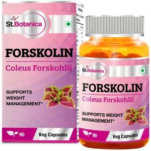 Buy St.Botanica Forskolin 500mg Extract - 90 Veg Caps - Nykaa