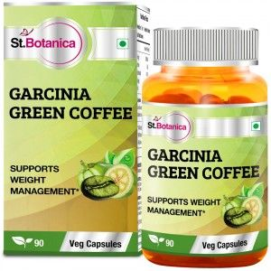 Buy St.Botanica Garcinia Green Coffee 500mg Extract - 90 Veg Caps - Nykaa