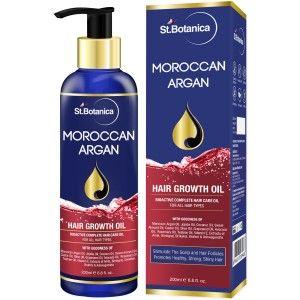 Buy St.Botanica Moroccan Argan Hair Growth Oil - Nykaa