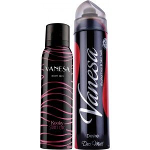 Buy Vanesa Kooky & Desire Deodorant Combo (Pack of 2) - Nykaa