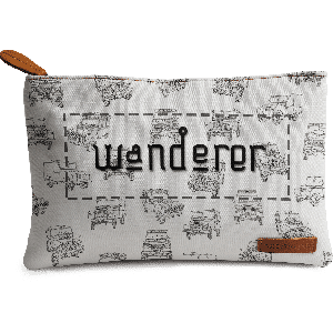 Buy DailyObjects Wanderer Jeeps Carry-All Pouch Medium - Nykaa