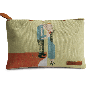 Buy DailyObjects Warm Embrace Carry-All Pouch Medium - Nykaa