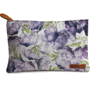 Buy DailyObjects Watercolor And Ink Florals Carry-All Pouch Medium - Nykaa