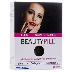 Buy West Coast Beauty Pill Biotin + Collagen Innovation Multivitamin 30 Tablets  - Nykaa