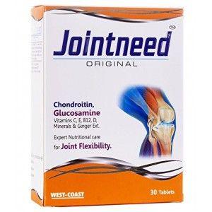 Buy West Coast Jointneed Original Chondroitin, Glucosamine 30 Tablets - Nykaa