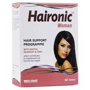 Buy West Coast Haironic Woman Hair Support Programme 60 Tablets - Nykaa