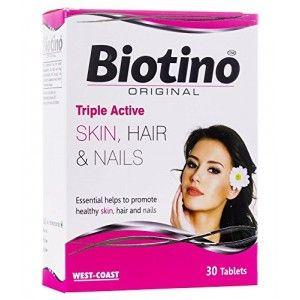 Buy West Coast Biotino Original Protan 30 Tablets - Nykaa