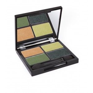 Buy Zuii Organic Flora Eyeshadow Quad Palette - Nykaa