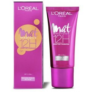 Buy L'Oreal Paris Mat Magique 12H Bright Mat Foundation - Nykaa