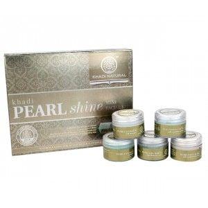 Buy Khadi Natural Pearl Mini Facial Kit - Nykaa