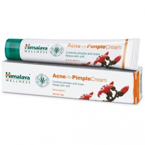 Buy Himalaya Wellness Acne-n-Pimple Cream - Nykaa