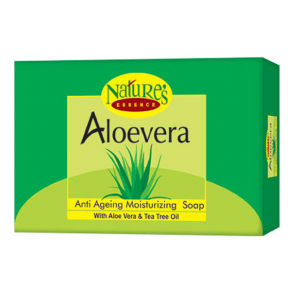 Buy Nature's Essence Aloevera Moisturizing Bar With Aloe Vera Extract - Set of 3+1 Free(4x75gm) Save Rs.50 - Nykaa