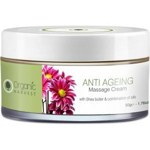 Buy Organic Harvest Massage Cream - Anti Ageing - Nykaa